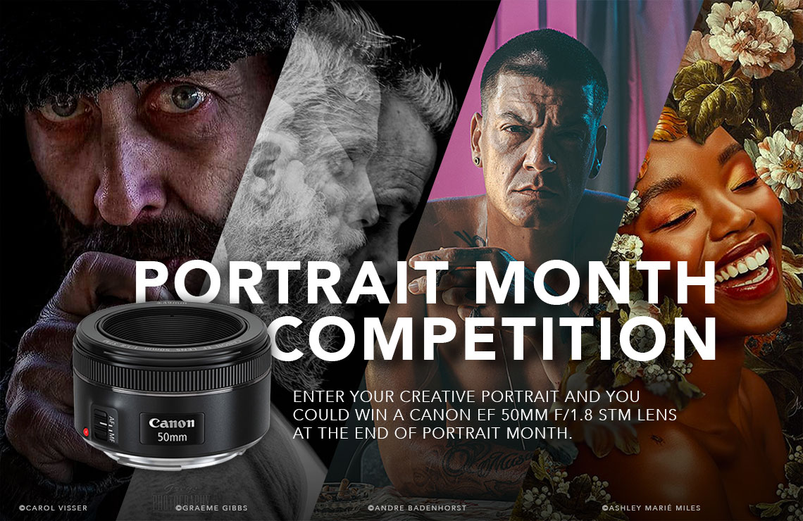 Portrait Month Giveaway Canon 50mm
