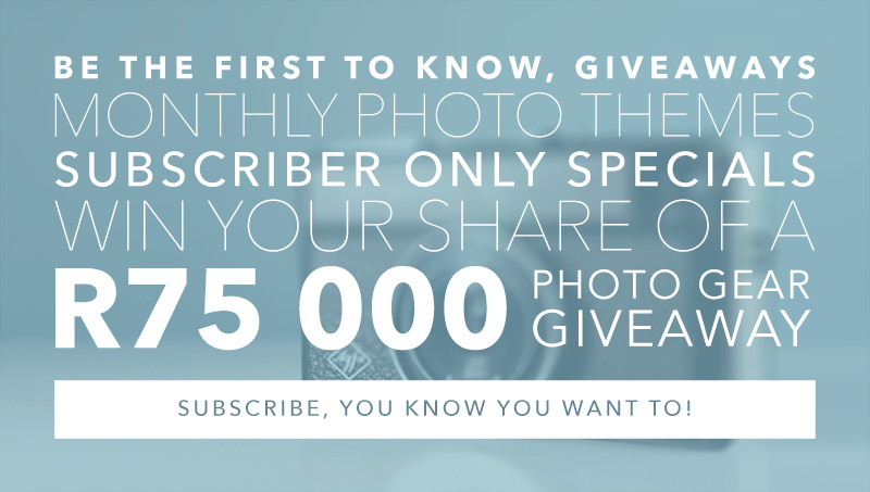Subscribe and win - What the F-Stop?