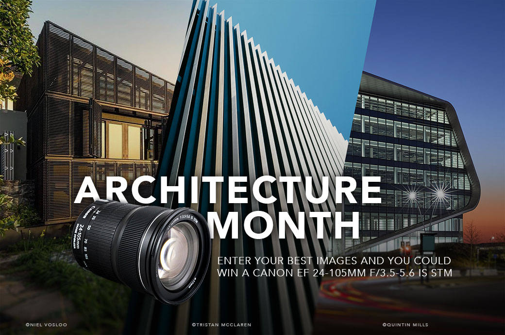 Architecture Month Giveaway - Canon EF 24-105mm f/3.5-5.6 IS STM