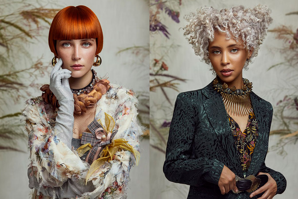 The Lotus Hair Collection. Photographed by Justin Dingwall