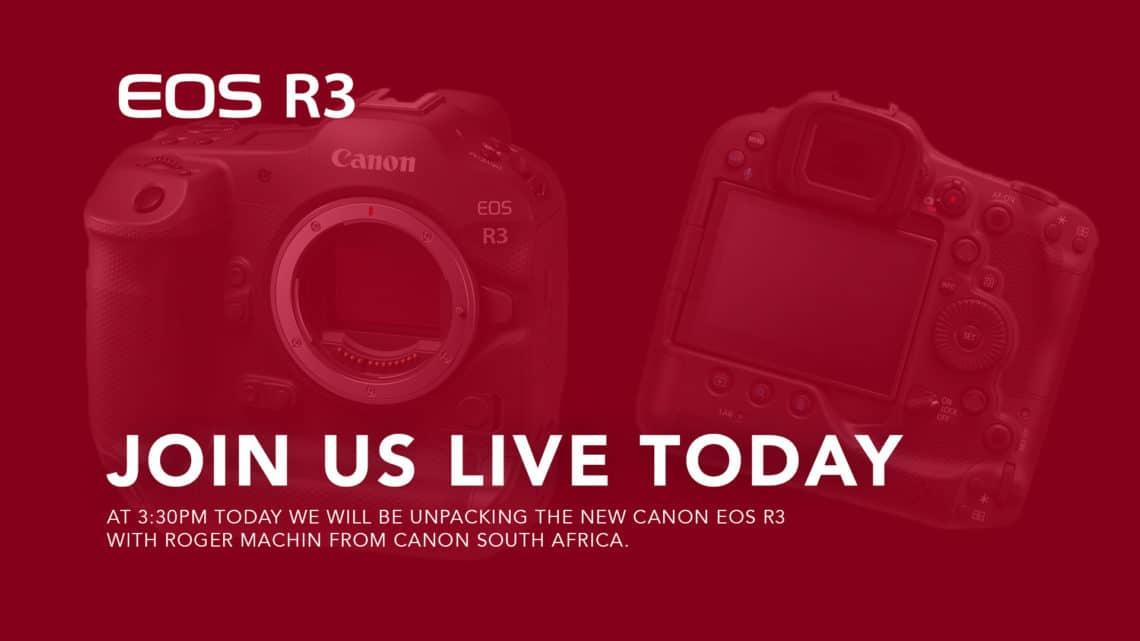 Canon EOS R3 unpack with Roger machin and Quintin Mills