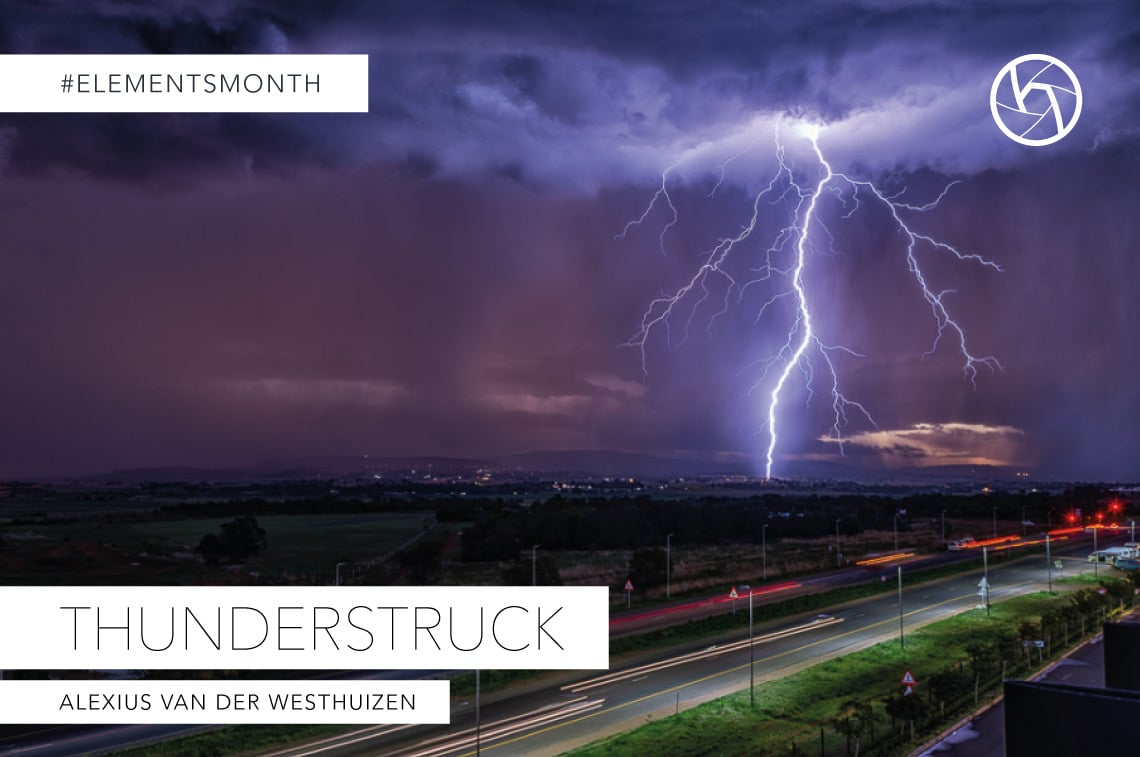 Thunderstruck. Hunters of light Creative Showcase Alexius Van Der Westhuizen